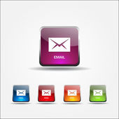 Email Vector Icon — Stock Vector