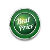 Best Price Glossy Shiny Circular Vector Button — Vecteur