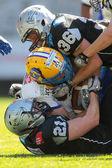 Raiders vs. Giants — Stock Photo