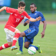 France vs. Austria (U19) — Stockfoto