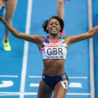 European Indoor Athletics Championship 2013. Perri Shakes-Drayton — Stock Photo