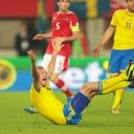 Постер, плакат: Austria vs Sweden Andreas Granqvist