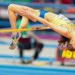 European Indoor Athletics Championship 2013.  Emma Green Tregaro — Stock Photo