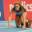European Indoor Athletics Championship 2013. Olha Zelyak  — Stock Photo