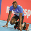 European Indoor Athletics Championship 2013.  Thomas Jordier — Stock Photo