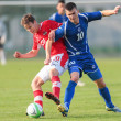 Austrivs. Bosniand Herzegovin(U19) — Stock Photo #30815489