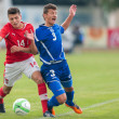 Austrivs. Bosniand Herzegovin(U19) — Stock Photo #30815597