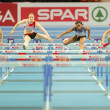 European Indoor Athletics Championship 2013. Reina-Flor Okori — Stock Photo