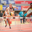 Gugl Indoor 2013. Yvette Lewis — Stock Photo