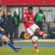 Austrivs. Faroe Islands. David Alaba — Stock Photo #30815855