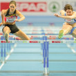 European Indoor Athletics Championship 2013. Sara Aerts — Stock Photo