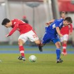 Austria vs. Faroe Islands. Philipp Hosiner — Stock Photo #30816051
