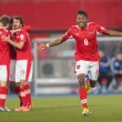 Austrivs. Faroe Islands. David Alaba — Stock Photo #30816097