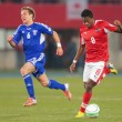 Austrivs. Faroe Islands. David Alaba — Stock Photo #30816139
