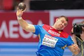 European Indoor Athletics Championship 2013. Aleksandr Bulanov — Stock Photo