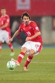 Austria vs. Faroe Islands. Veli Kavlak — Stock Photo
