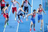 European Indoor Athletics Championship 2013. Yury Trambovetsky — Stock Photo