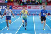 European Indoor Athletics Championship 2013. Petter Olson — Stock Photo