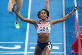European Indoor Athletics Championship 2013. Perri Shakes-Drayton — Stock Photo