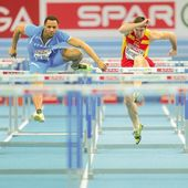 European Indoor Athletics Championship 2013. Paolo Dal Molin — Stock Photo