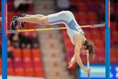 European Indoor Athletics Championship 2013. Andrej Polanec — Stock Photo