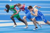European Indoor Athletics Championship 2013. Aleksander Brednev — Stock Photo