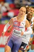 European Indoor Athletics Championship 2013. Pavel Maslak — Stock Photo