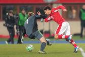 Austria vs. Faroe Islands. Philipp Hosiner — Stock Photo