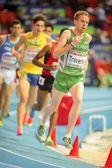 European Indoor Athletics Championship 2013. John Travers — Stock Photo