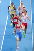European Indoor Athletics Championship 2013.Yury Trambovetsky — Stock Photo