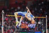 European Indoor Athletics Championship 2013. Konstadinos Baniotis — Stock Photo