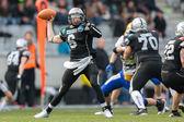 Raiders vs. Giants. Kyle Callahan — Stock Photo