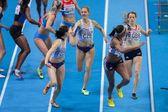 European Indoor Athletics Championship 2013. Shana Cox — Stock Photo