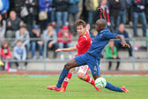France vs. Austria (U19) — Stock Photo