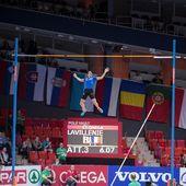 European Indoor Athletics Championship 2013. Renaud Lavillenie — Stock Photo