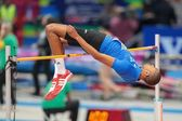 European Indoor Athletics Championship 2013. Mickael Hanany — Stock Photo