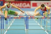 European Indoor Athletics Championship 2013. Balazs Baji — Stock Photo
