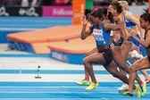 European Indoor Athletics Championship 2013. Myriam Soumare — Stock Photo