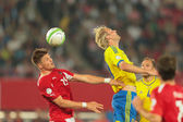 Austria vs. Sweden — Stock Photo