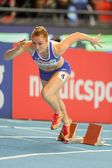 European Indoor Athletics Championship 2013. Ella Raesaenen — Stock Photo