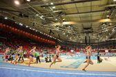 European Indoor Athletics Championship 2013. Ella Raesaenen — Stock Photo