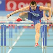 European Indoor Athletics Championship 2013. Viliam Papso — Stock Photo