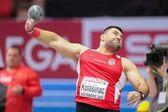 European Indoor Athletics Championship 2013. Asmir Kolasnic — Stock Photo