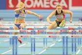 European Indoor Athletics Championship 2013. Eline Berings — Stock Photo