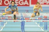 European Indoor Athletics Championship 2013. Sofia Linde — Stock Photo