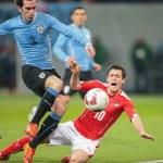 Постер, плакат: Austria vs Uruguay