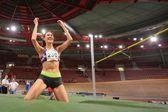 Vienna Indoor Classic 2014. Ekaterina Kuntsevich — Zdjęcie stockowe