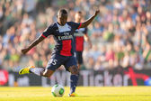 Rapid vs. Paris St. Germain — Stockfoto