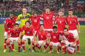 Austria vs. Ireland — Stock Photo
