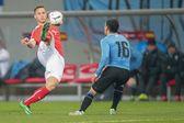 Austria vs uruguay — Foto Stock